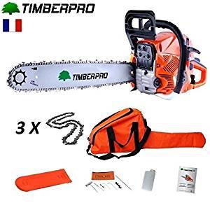 tronçonneuse thermique timberpro 62 CM